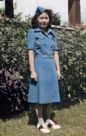 Lillian Tam Wong, 1942
